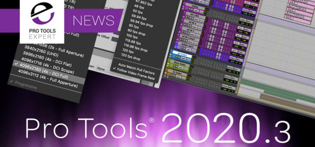Pro Tools 2020.3 ora disponibile